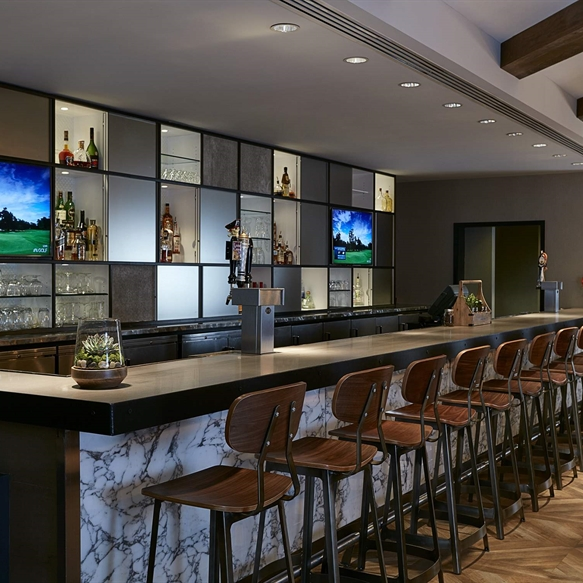 Coopers Mill bar seating